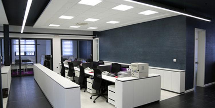 <center>Büro-Umgebung